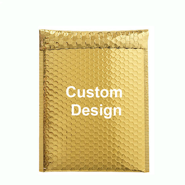 Custom Bubble Bag for Retail Phone Case Small Accessories Jewelry Protective Pouch Bubble Envelope Cosmetics Transport Bag Can Add Your Logo
