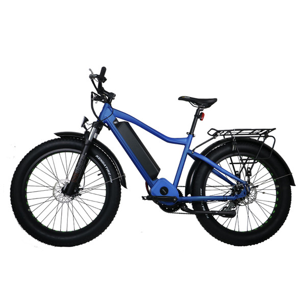 Drop shipping USA CANADA hidden battery fat tire electric bike 48V1000W electric fat bicycle with fat tire 26*4.0