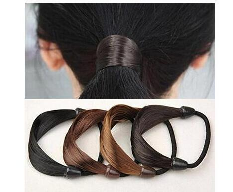 Wig braids Hairband hair clip Girl women's Accessories Headband Hairpieces Scorpion hair rope stretch(Mix 4pcs)
