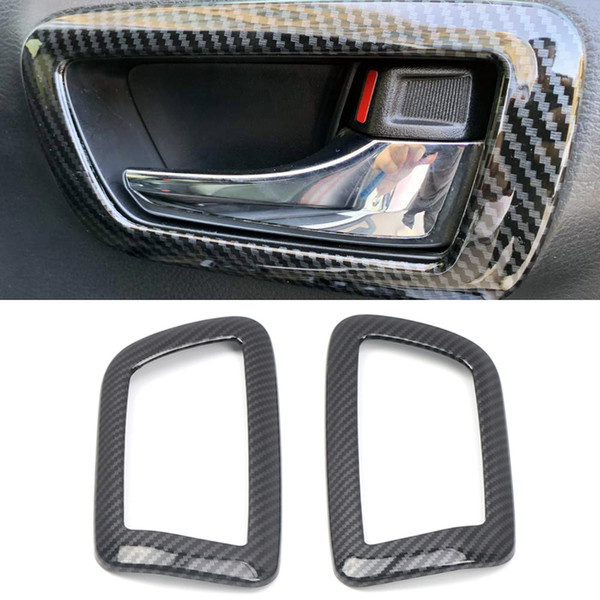 Truck Interior Accessories >> For Tacoma 2016 2019 Abs Interior Car Front Door Handle Bowl Frame Car Styling Accessories Truck Interior Accessories Truck Interior Parts From