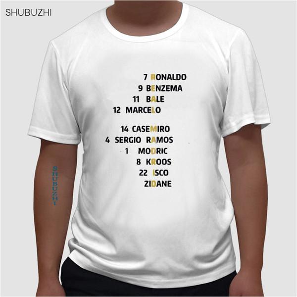 Мужская лига Испания кроссворд футболка Рамос Роналду Асенсио Модрич Реал футболка мужской Мадрид болельщики подарок тройник евро размер