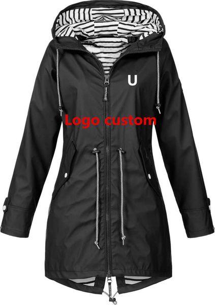 Nuevas chaquetas de primavera / verano mujeres de la marca chaquetas deportivas al aire libre largas para mujer / niñas Hoodies 6 Color S-3XL