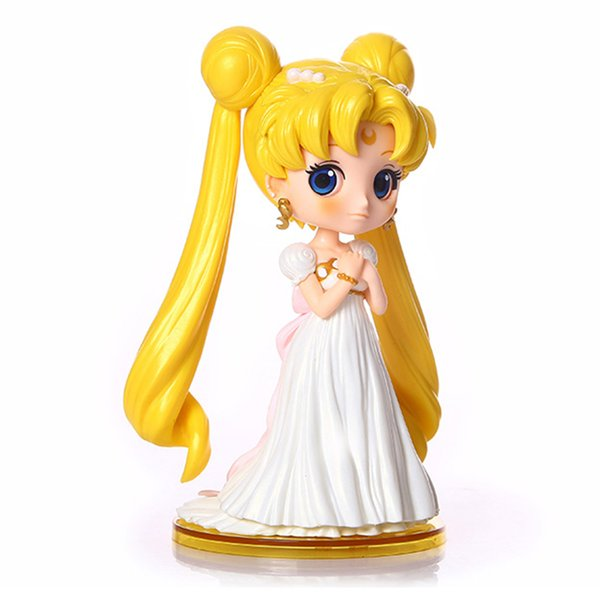 Sailor Moon Qposket Sexy Anime Action Figure Art Girl Big Boobs Tokyo Japan Anime Toys Sex Doll Adult Products Free Shipping