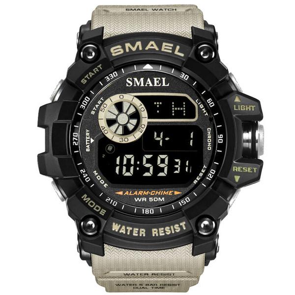 Homens Esportes Relógios cronómetro Alarme Chrono Digital assistir relógio eletrônico da mão para o homem unisex digital de desporto impermeável