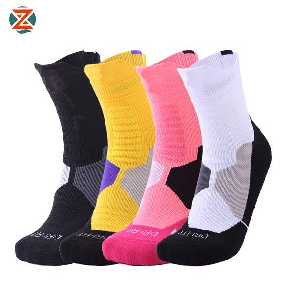Elite Professional Basketball Socks Sports Running Fitness Breathable Football Socks Cycling Camping Quick dry Elastics Soccer Sock