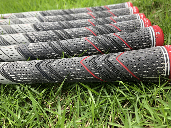 2018 new golf grip grey color rubber for golf iron driver tandard mid ize golf club grip dhl hip