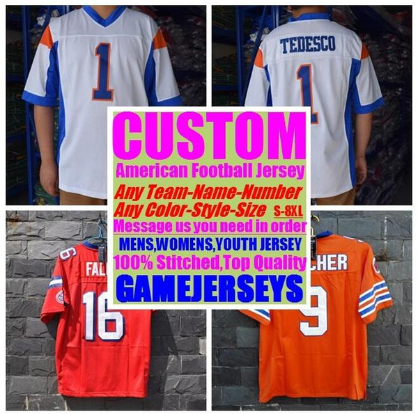 best selling Customized american football jerseys college cheap authentic sports jersey stitched mens womens youth kids 4xl 5xl 6xl 7xl 8xl top quality