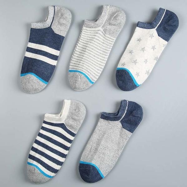 Do Do Mian Socks Men 10pairs/lot Ankle Socks Summer Short Socks Slippers Cotton Casual Men Breathable Soft T190825