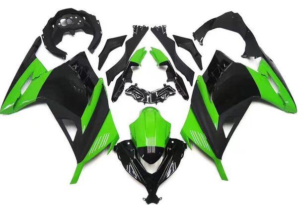 Custom New Motorcycle Fairing Kit For Kawasaki Ninja 300 EX300 Ninja300 2013 2014 2015 13 14 15 bike Fairings Injection Molding black Green