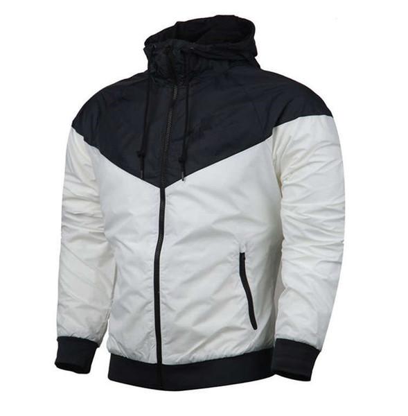 2019 топ толстовка толстовка мужская куртка с длинным рукавом осень спорт открытый Ветрокрылая молния ветровка пальто плюс размер S-3XL