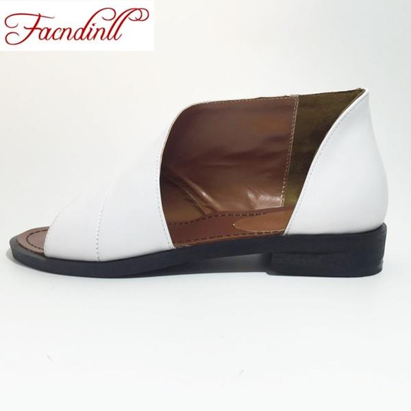 chaussures d'été femmes sandales sandales en cuir véritable fashion épais talons hauts peep toe chaussures femme bureau dame robe casual