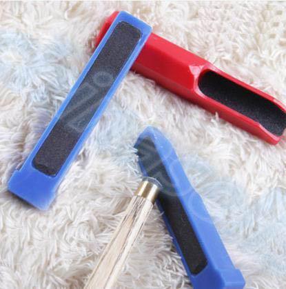 2 pezzi biliardo biliardo stecche punta shaper trimmer aste scuffer punta stecca double-stick stick shaper rettifica strumento di riparazione