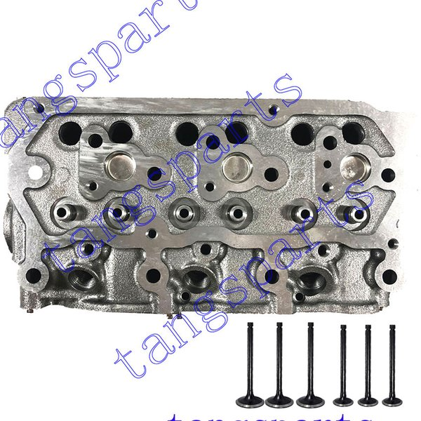 best selling New S3L2 Cylinder head with valves For Mitsubishi engine fit Mahindra 2015 HST motor S3L
