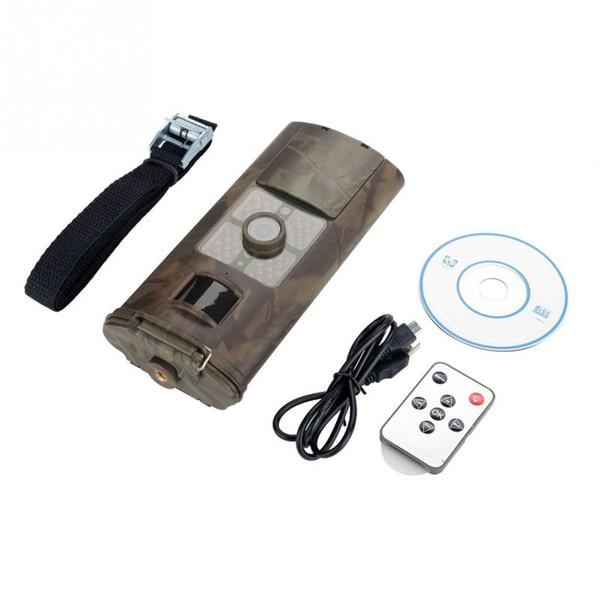 HC700A 1080 P 16MP HD Avcılık Yaban Hayatı Trail Kamera Gece Görüş Hareket Algılama Kamera 5 Mega Kızılötesi Trail Vedio Kameralar