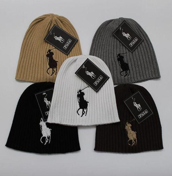 2019 Heart glasses pattern Beanie fashion cap winter knitted golf skiing wool polo cap ouHeadgear Headdress Head Warmer Skiing warm hat