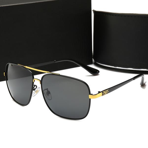 Metallo ciclismo guida moda AMI uomo occhiali da sole polarizzati moda occhiali da sole fabbrica diretta 10022 occhiali da sole polarizzati top brand exquisit D