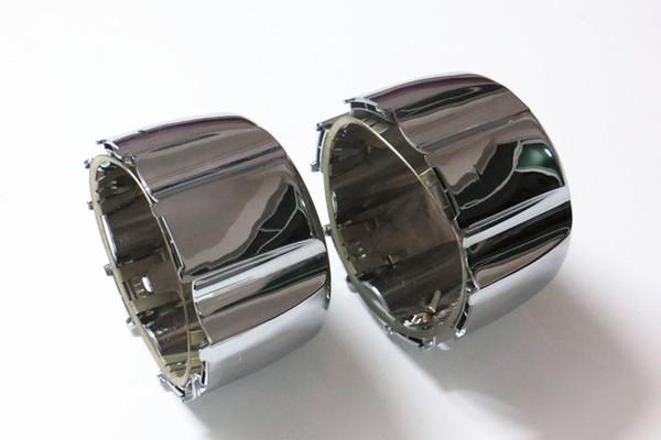 4 unids Wheel Center Caps Cover Chrome para Mitsubishi Pajero Montero Shogun 2 II 1990-1999 envío gratis