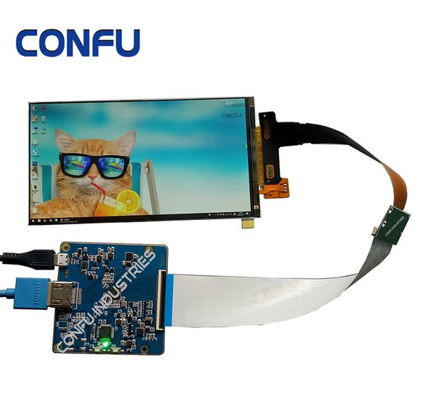 Конфу HDMI на MIPI драйвер платы 6 дюймов 2560 * 1440 2K LS060R1SX02 ЖК-экран модуля для VR DIY проектор 3D-принтер
