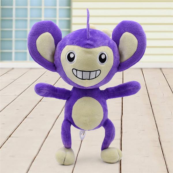 11 pouce Pokémon Aipom En Peluche jouets Doux en peluche mignon Grab machine Poupée Pour Enfants anniversaire meilleur cadeau