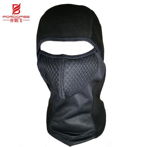 Winter Cycling Face Mask Cap Ski Bike Mask Thermal Fleece Snowboard Shield Hat Cold Headwear Bicycle Training Mask