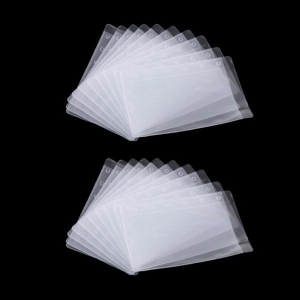 best selling 20 Binder Pockets 6 Holes Notebook Binder Loose Leaf Bag A7