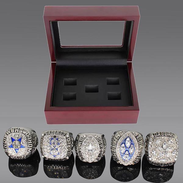 Silvery 5 anelli + box