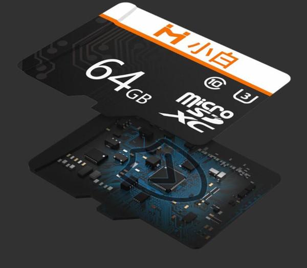 샤오 미 Youpin Xiaobai 마이크로 SD 카드 32G 64G 128G 95메가바이트 / S 1백메가바이트 / S 메모리 카드 마이크로 TF 플래시 카드를 들어 전화 카메라 레코더