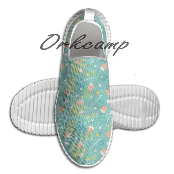Жемчужный узор кроссовки обувь для ходьбы летом удобный легкий вес