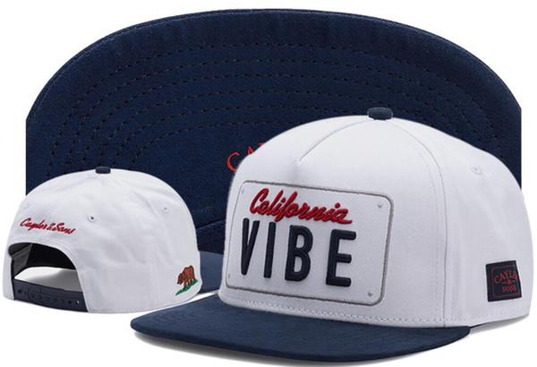 2019 New retail Fashion CAYLER & SONS Snapback Cap Hip-hop Men Women Snapbacks Hat Baseball Sports Cap, CAYLER&SONS California Republic cap
