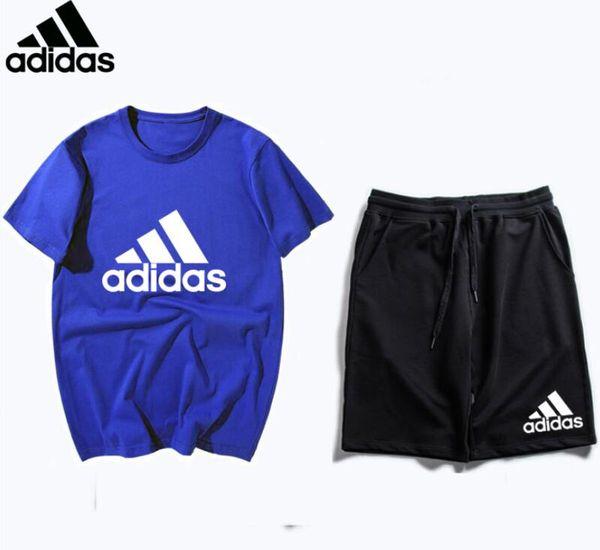 de gros! Livraison gratuite 2019 victoire ΑDIDAS vêtements de tennis de table / vêtements de badminton shirt T-shirt + shorts