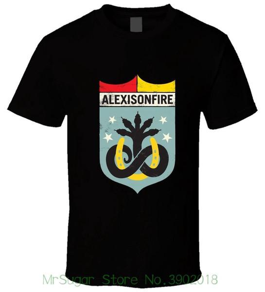 Alexisonfire 1 Black Men T Shirt Size S - 5xl High Quality Custom Printed Tops Hipster Tees T-shirt