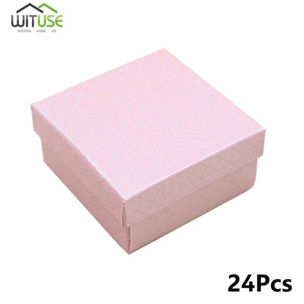 Розовый 7.5x7.5x3.5 см