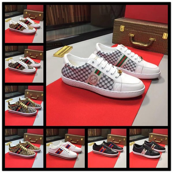 18ss High quality Designer shoes for man women red bottoms Junior Spikes Flat sneakers Genuine leather fashion paris dress shoes with box