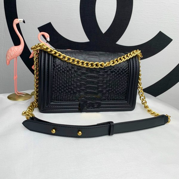 Shoulder Bag Fashion Brand Chain Small Bread Star Inclined Shoulder Bag 2019 European And American Popular New Designer Women's Handb