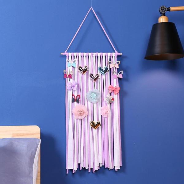 Baby Haarschleifenhalter INS Baby Haarnadel Kleiderbügel Mädchen Haare Clips Speicherorganisator Mode Kinder Hairwear Speicher Gürtel TTA1655