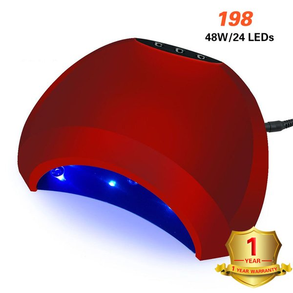 Lamp For Manicure 48w Uv Lamp Gel Quick Drying Ice Tool Drying Machine For All Curing Polish Nail Dryer Art Tools Hybrid Lamp J190712