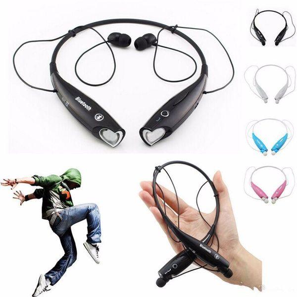 HV800 Oreillettes Bluetooth Sport écouteurs intra-auriculaires stéréo sans fil casque avec micro pour Samsung Xiaomi HuaWei iPhone Sony Tablet VS HBS910