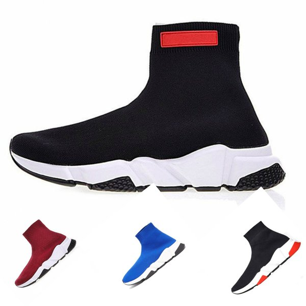 Belenciaga sock shoes Air jordan Reebok Vans red bottoms slipper designer men shoes luxury booties clog vintage star Piatti Uomo e donna Moda Sport Stivali Sneakers 36-46