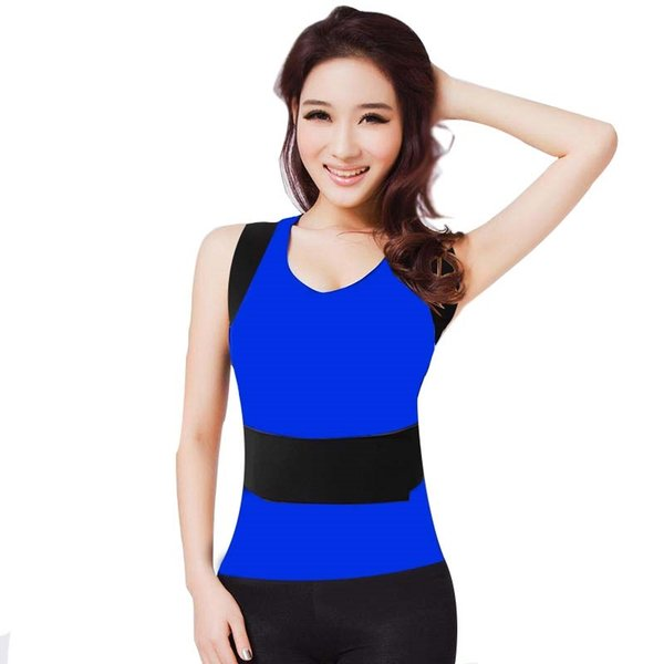 Men Women Adjustable Orthopedic Slimming Back Support Hot Sale Posture Corrector Breathable Elastic Magnets Back Support Brace #377767