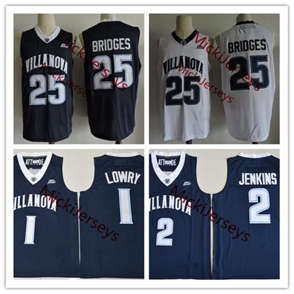 finest selection 562f0 a386c 2019 Mens NCAA Villanova Wildcats Kyle Lowry College Basketball Jersey #2  Kris Jenkins #25 Mikal Bridges Villanova Wildcats Jersey S 3XL From ...