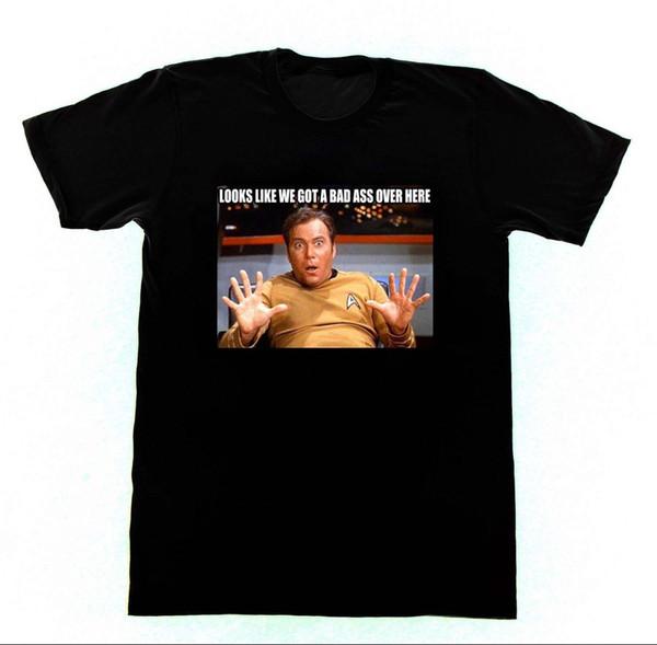Star Trek KÖTÜ ASS Gömlek T12 Tshirt TV-Neil Degrass William Shattner Caz HandsFunny ücretsiz kargo Unisex Rahat hediye