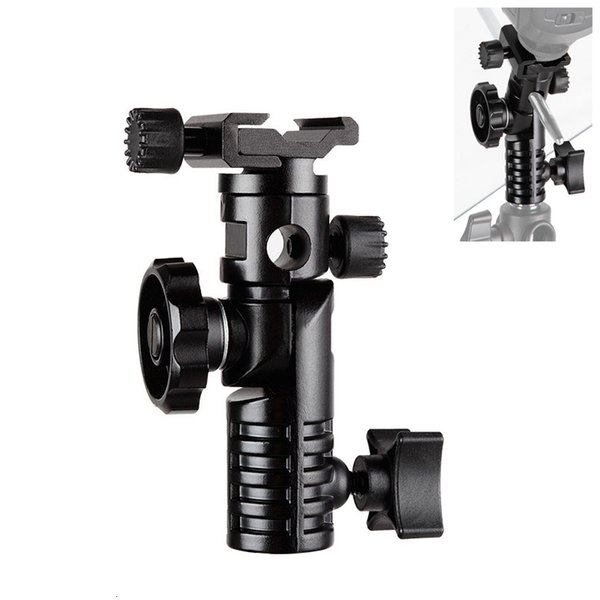 HPUSN metallo universale montaggio Flash Hot Shoe Adapter 1/4