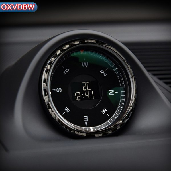 2019 For Porsche Macan Accessories Carbon Fiber Clock Panel Condition Frame  Sticker Car Styling Automotive Interior 2014 2018 From Oxvdbw, $6.04