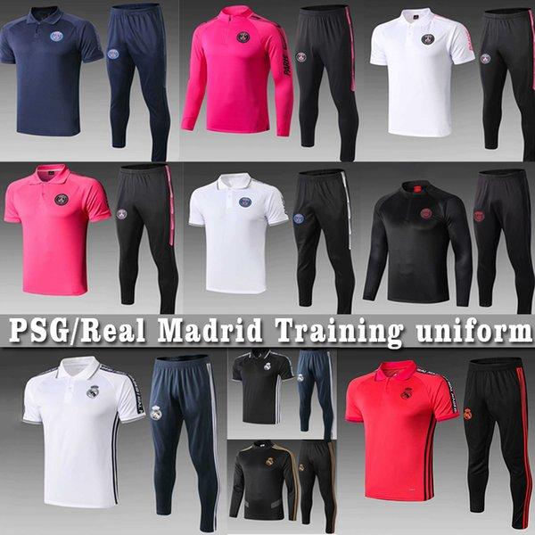 Icardi 2020 Uomini Real Madrid Calcio Imposta giacca PSG pieno cerniera tuta PERICOLO maillots de Bâle calcio Mbappe formazione uniforme