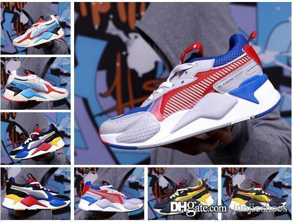 Desiner Sneakerx TRANSFORMATÖRLER RS-X Koşucu Boost Vintage Coconut Koşu Ayakkabıları erkek Gelgit Marka Sneakers Rahat Ayakkabılar kaliteli
