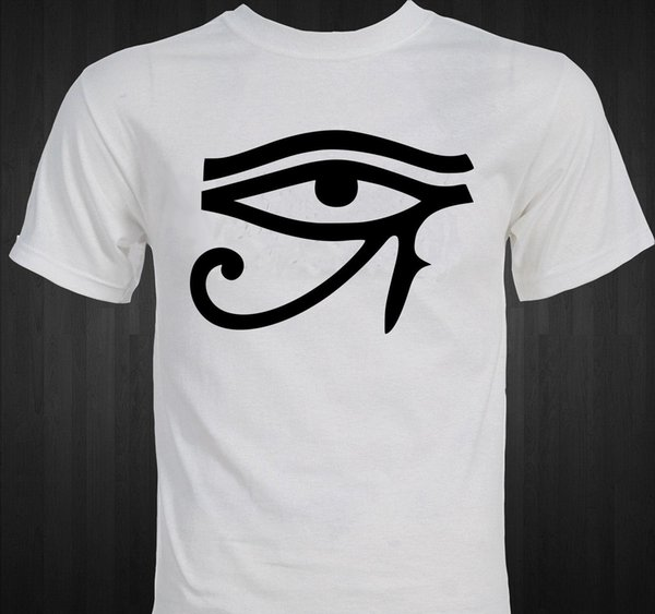 Eye of Horus Egyptian Mysticism Religion Protection Power Ancient Egypt T-shirt Colour Jersey Print T Shirt