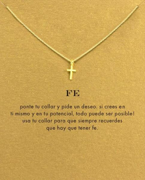 8 Estilo Colar de pingente de mulher de ouro de prata senhora menina simples lua estrela cruz trevo jóias moda popular presente