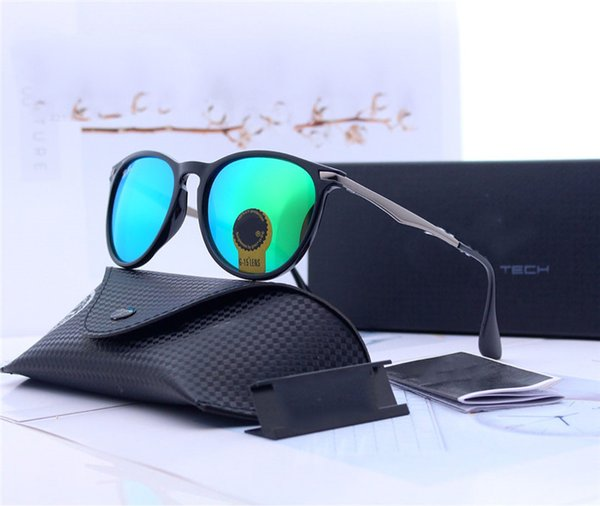 Top quality Brand Sunglasses For Women Unisex Sunglasses 8611 Designer Sun Glasses glass lens Men Vintage Sunglass With Case and box