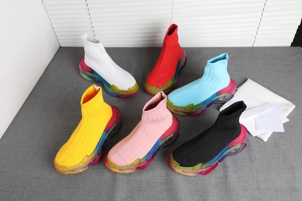 2019 Melhor Luxo Triple-S Designer Low Sneakers Solas Grossas Velocidade Botas de grife homens Runner Shoes Custom Marca Sports Casual Shoe mm19072607