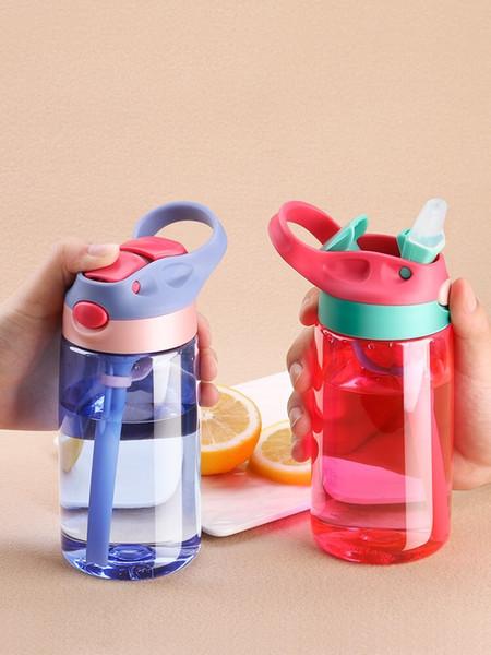 Heiß-verkaufende Saugflasche der Kinder Auslaufsichere Flasche Beweglicher Sport-Kessel Enten-berechnete Plastikflasche